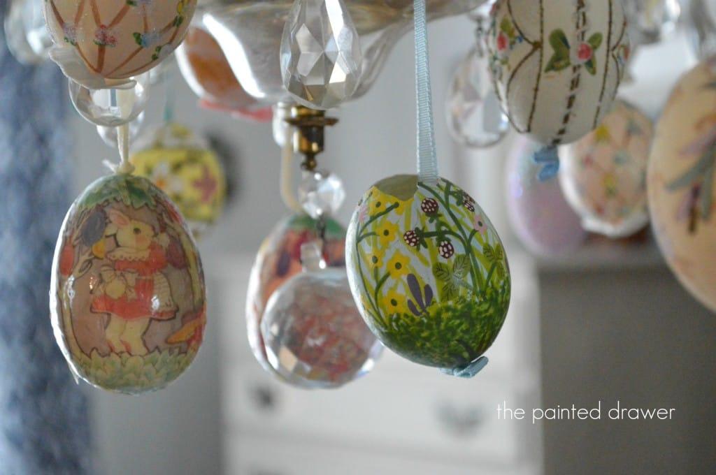 Easter Chandelier7