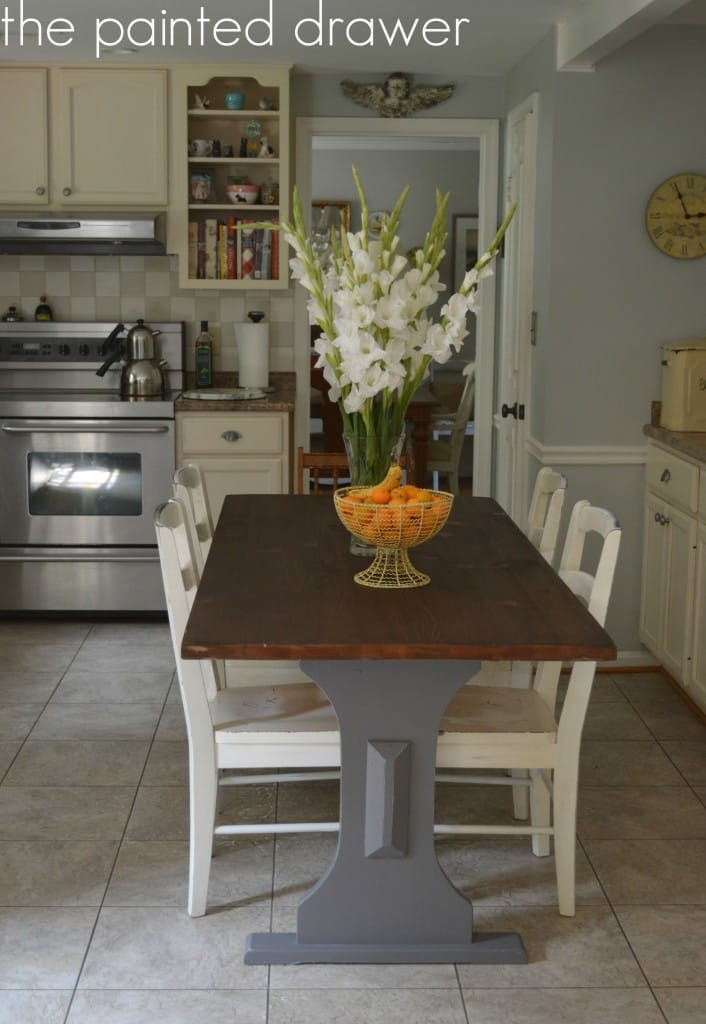 Farmhouse Kitchen Table (3)