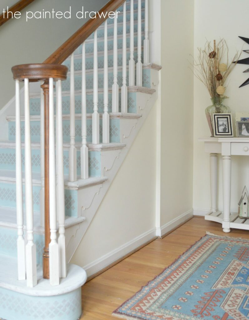 Great ... White Washed Stairs Www.thepainteddrawer.com ...