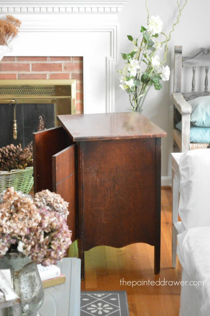 Favorite Find Monday – Vintage Record Cabinet
