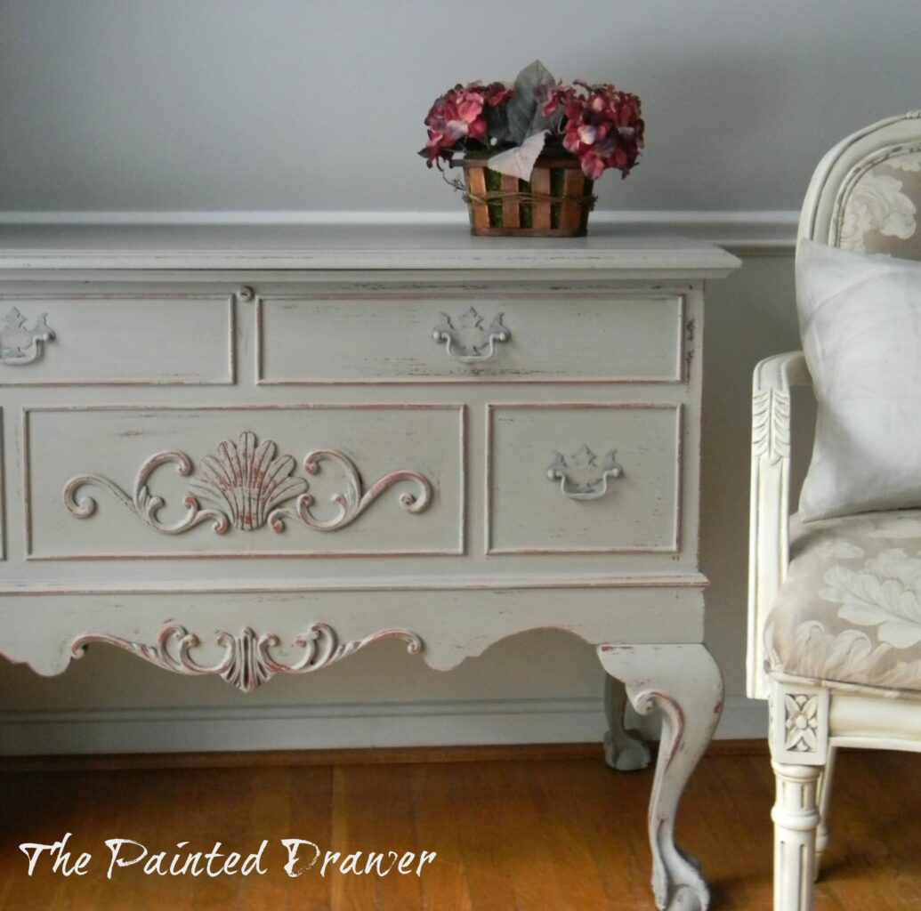 Paint Color Highlight Annie Sloan French Linen And Paris