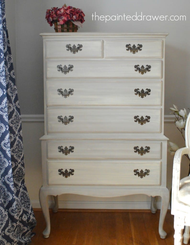Country Grey dresser www.thepainteddrawer.com