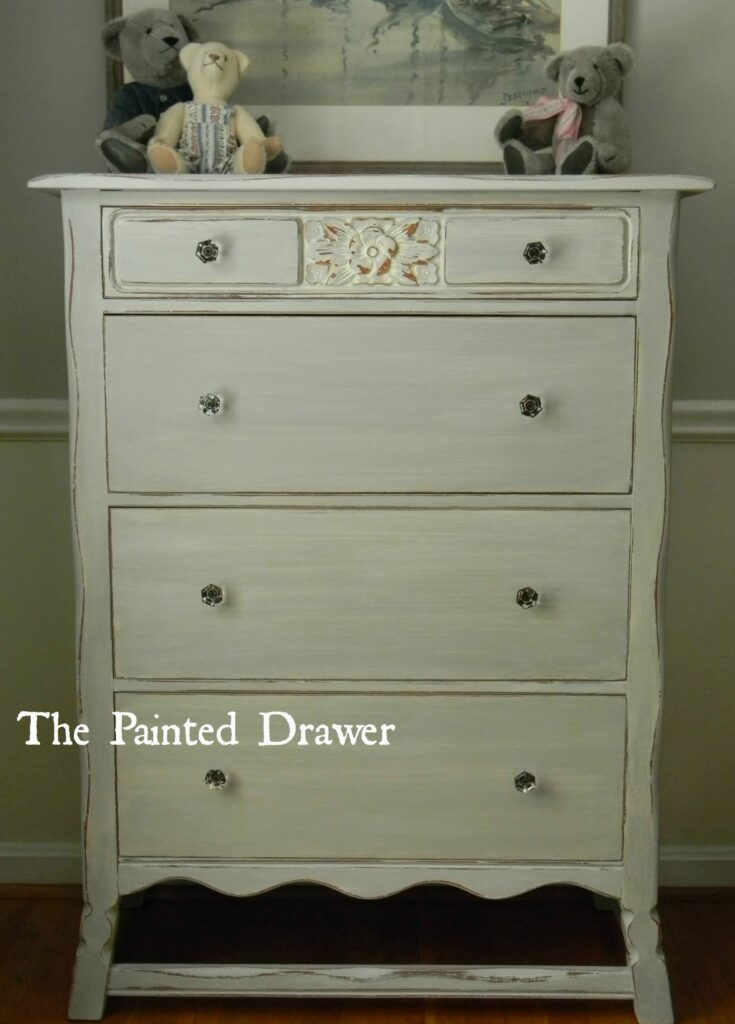 Dresser Chalk Paint Country Grey Color