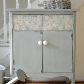 Duck Egg Blue Cabinet www.thepainteddrawer.com