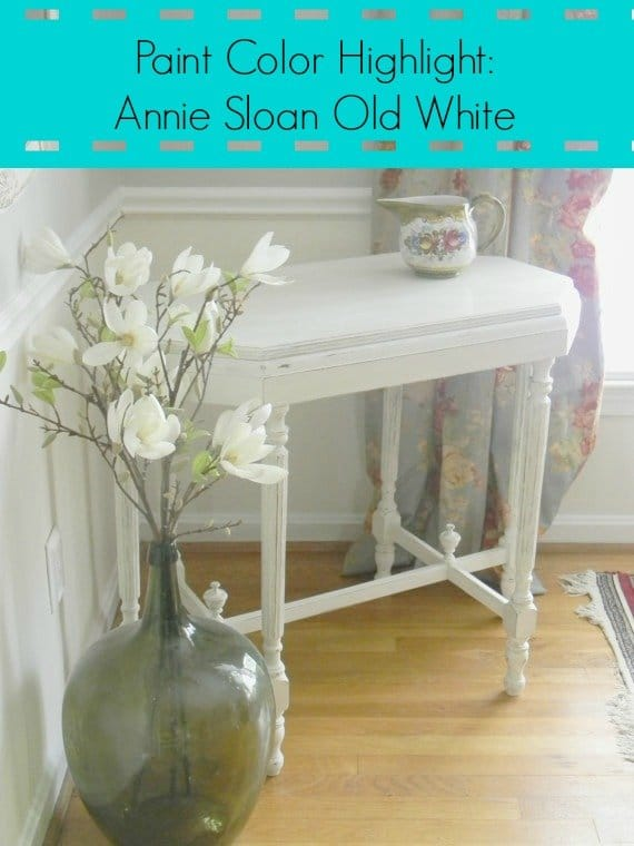 Annie Sloan Old White Tutorial
