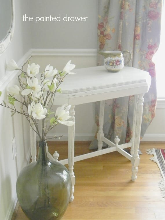shabby table