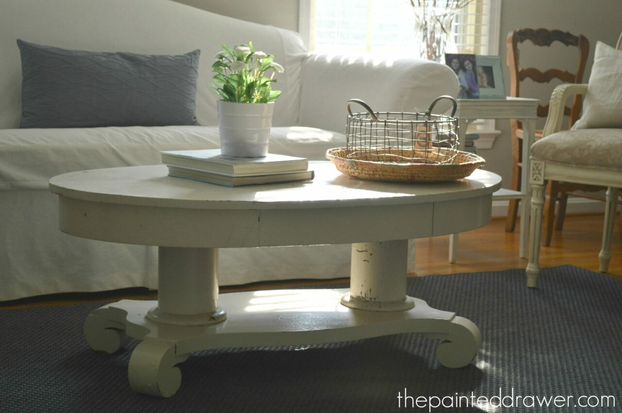 An Empire Coffee Table Gets a Fix