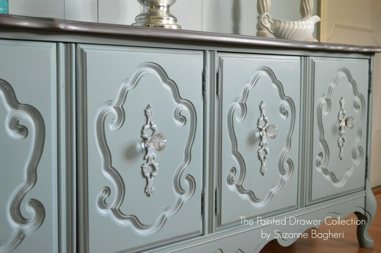 The Vintage Bassett Cabinet Season One - Before and After -