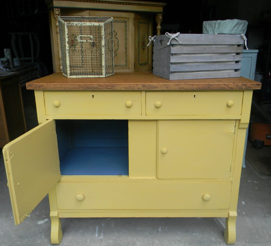 French Country Empire Cabinet