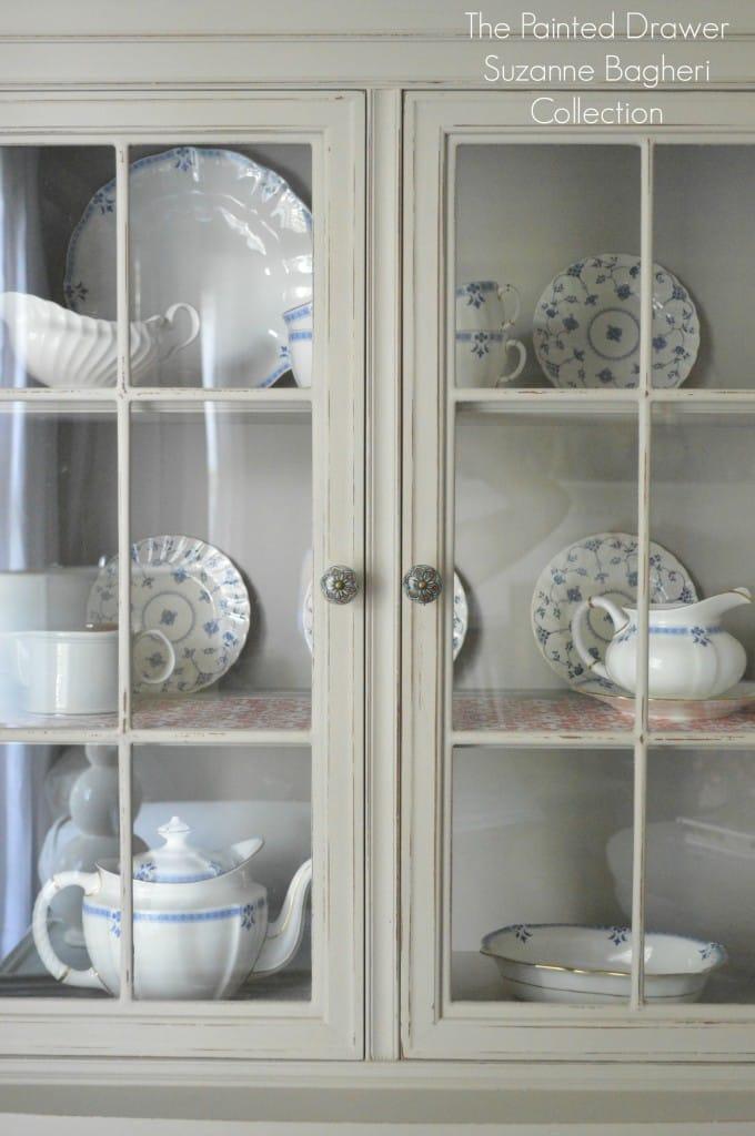 Greige Farmhouse Cabinet