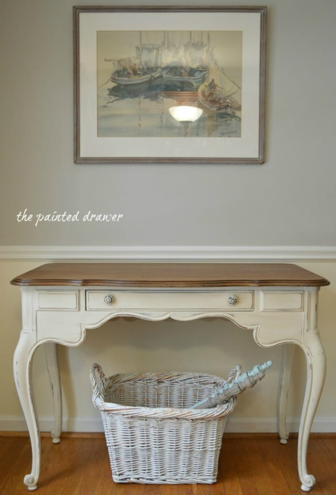 Paint Color Highlight – Annie Sloan Old White, Old Ochre, Provence and Paris Grey