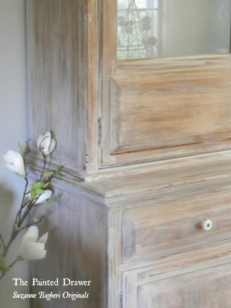 Whitewashed Wood www.thepainteddrawer.com
