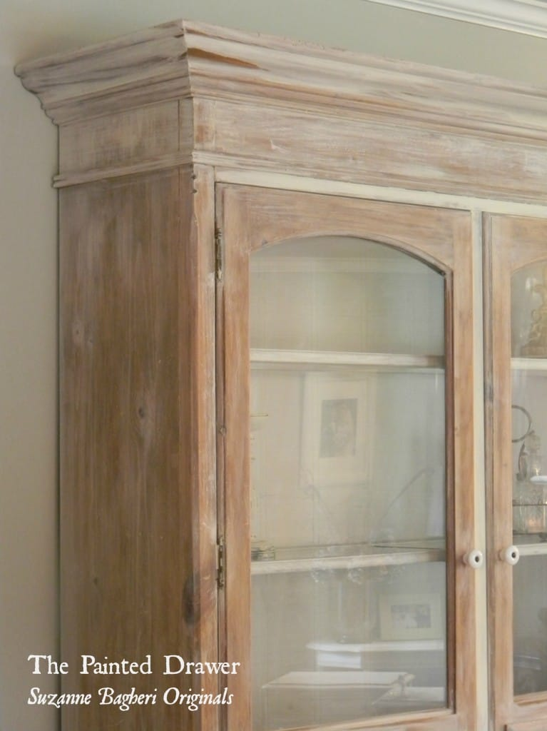 Whitewashed Farmhouse Cabinet