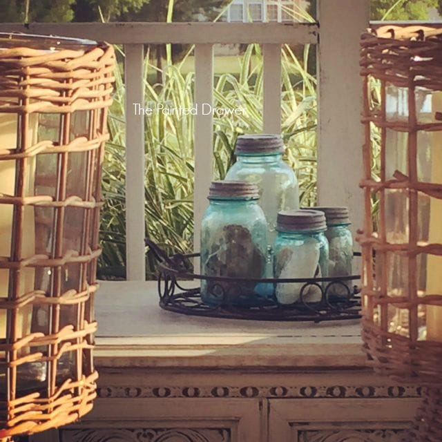 Sara's Beach Porch Decor
