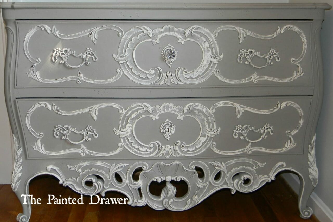 Bombe Chest www.thepainteddrawer.com