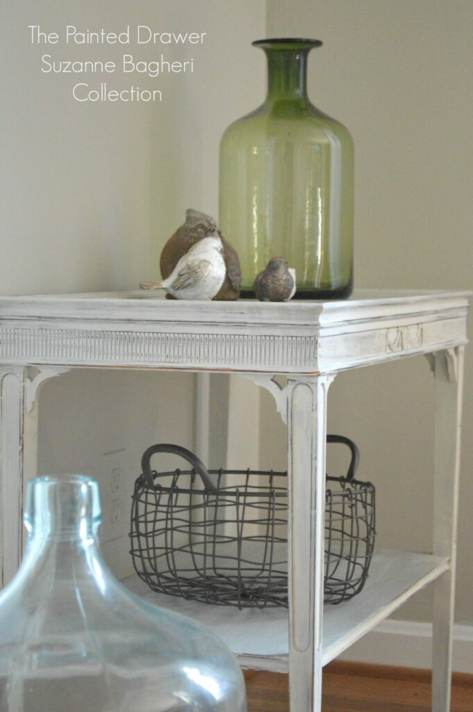 Design on a Dime – Thrift Store Tables & Seagull Gray