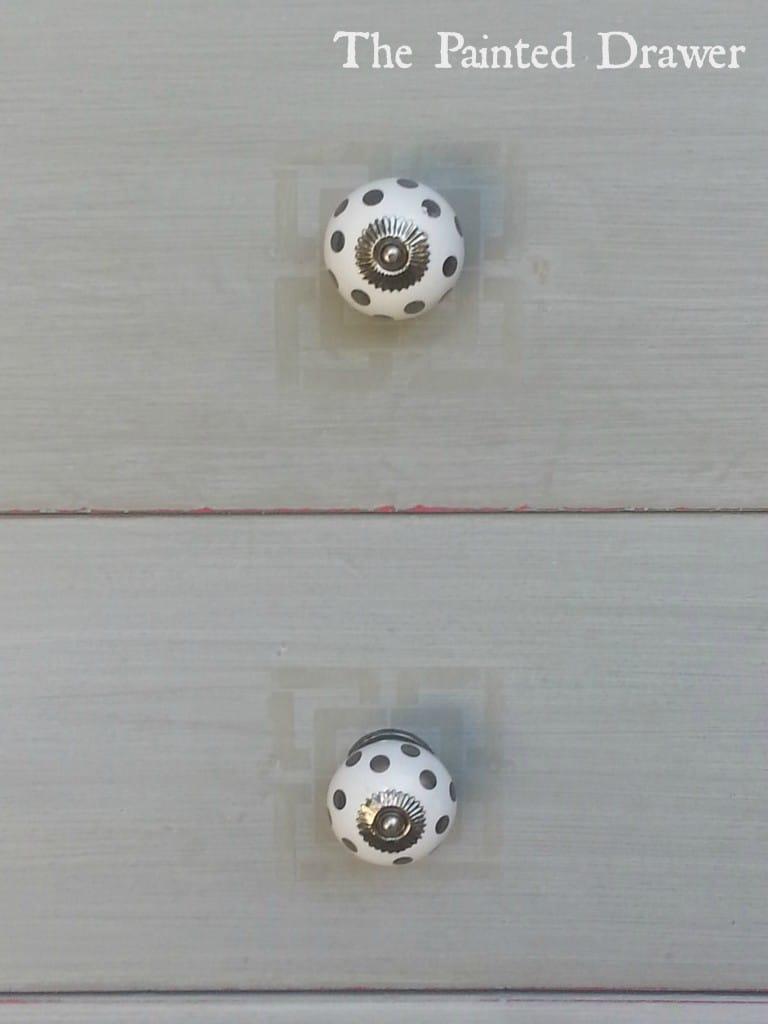 Stenciled Pulls