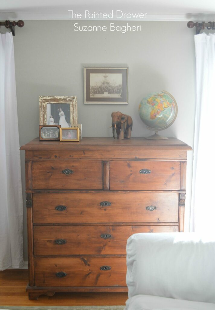 Vintage Chest www.thepainteddrawer.com
