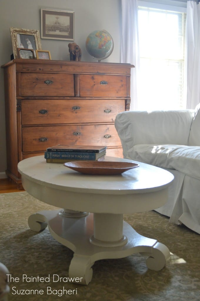 Vintage Empire Coffee Table