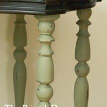 Annie Sloan Chateau Grey Table