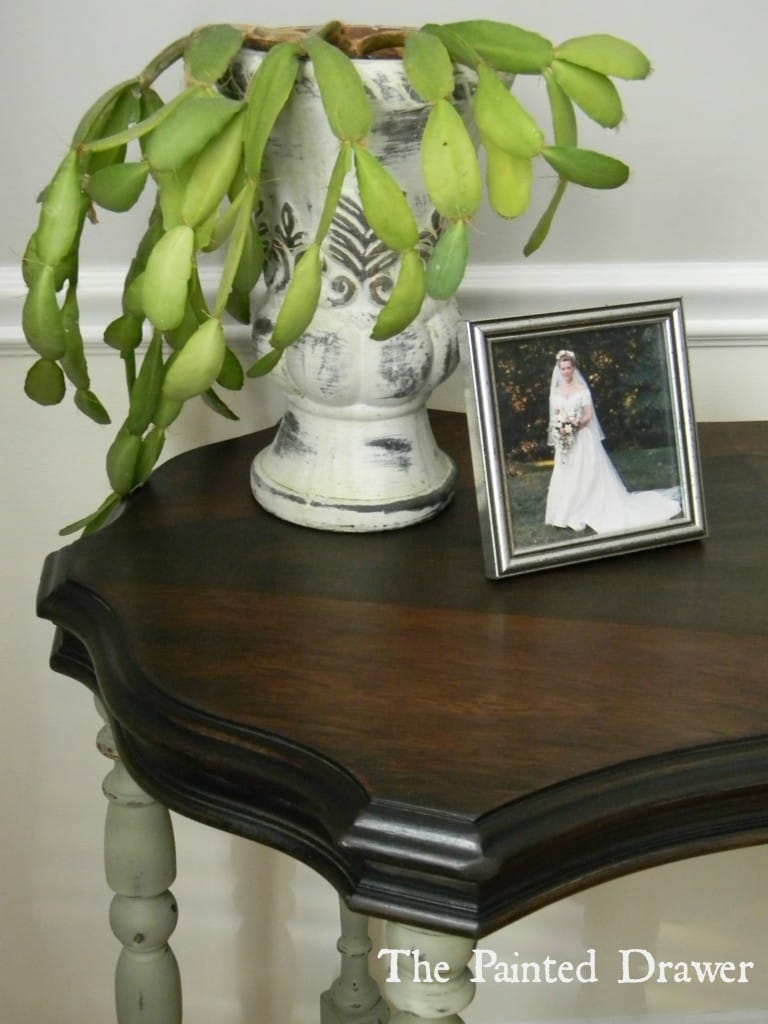 Diamond Table www.thepainteddrawer.com