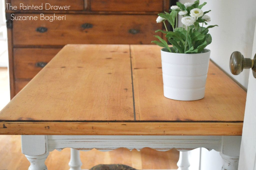 Refinishing – Not Restoring – a Vintage Wood Top