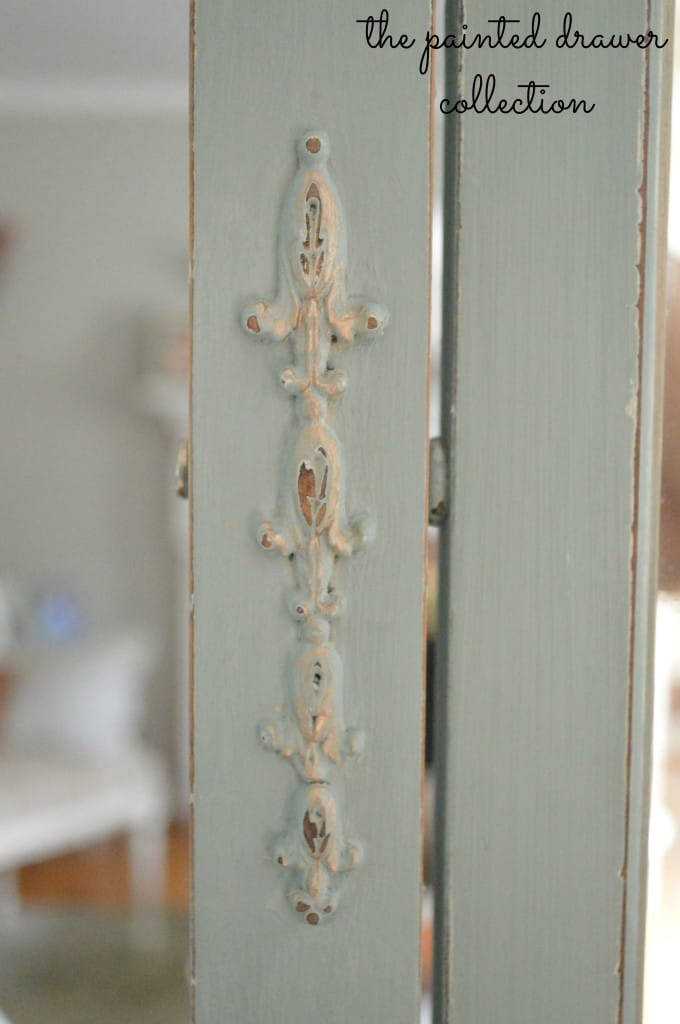 Antique Dresser Detail thepainteddrawer.com