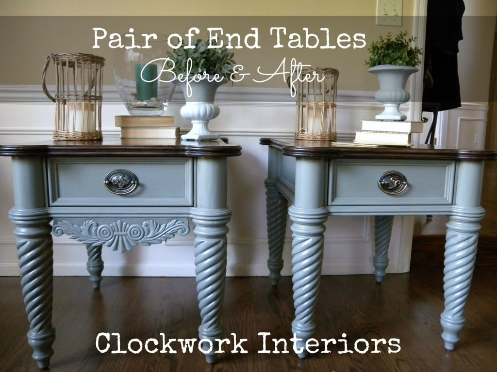 Clockwork Interiors End Tables