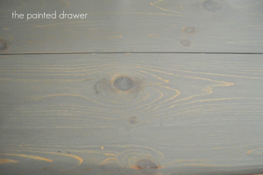 General FInishes wood stain www.thepainteddrawer.com