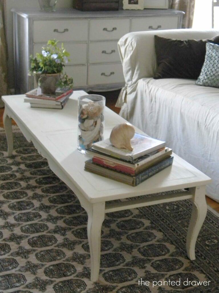 Design on a Dime Coffee Table Change Up