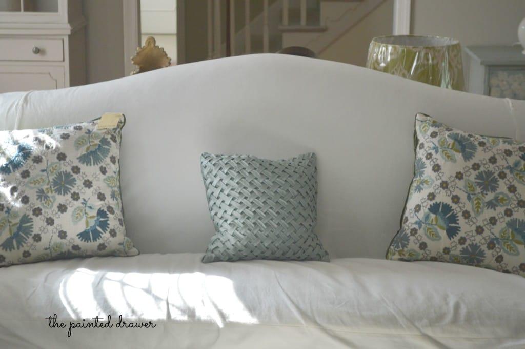 World Market Cushions www.thepainteddrawer.com