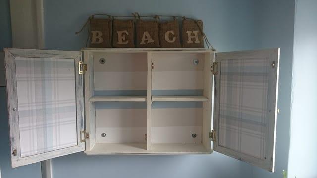 Pretty Shabby UK Medicine Cabinet