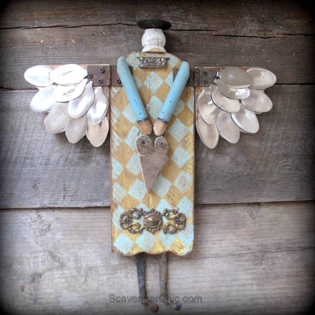 Scavenger Chic Junk Spoon Angel
