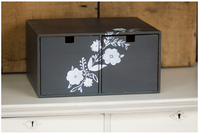the painted drawer link party. Black Bedroom Furniture Sets. Home Design Ideas