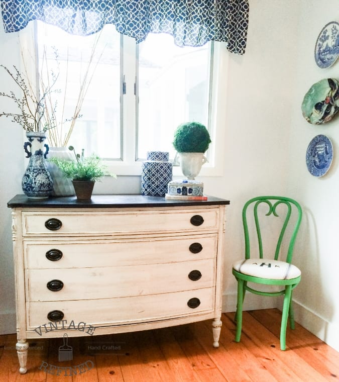 Vintage Refined Upcycled Chair