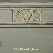 Paris Grey Dresser www.thepainteddrawer.com