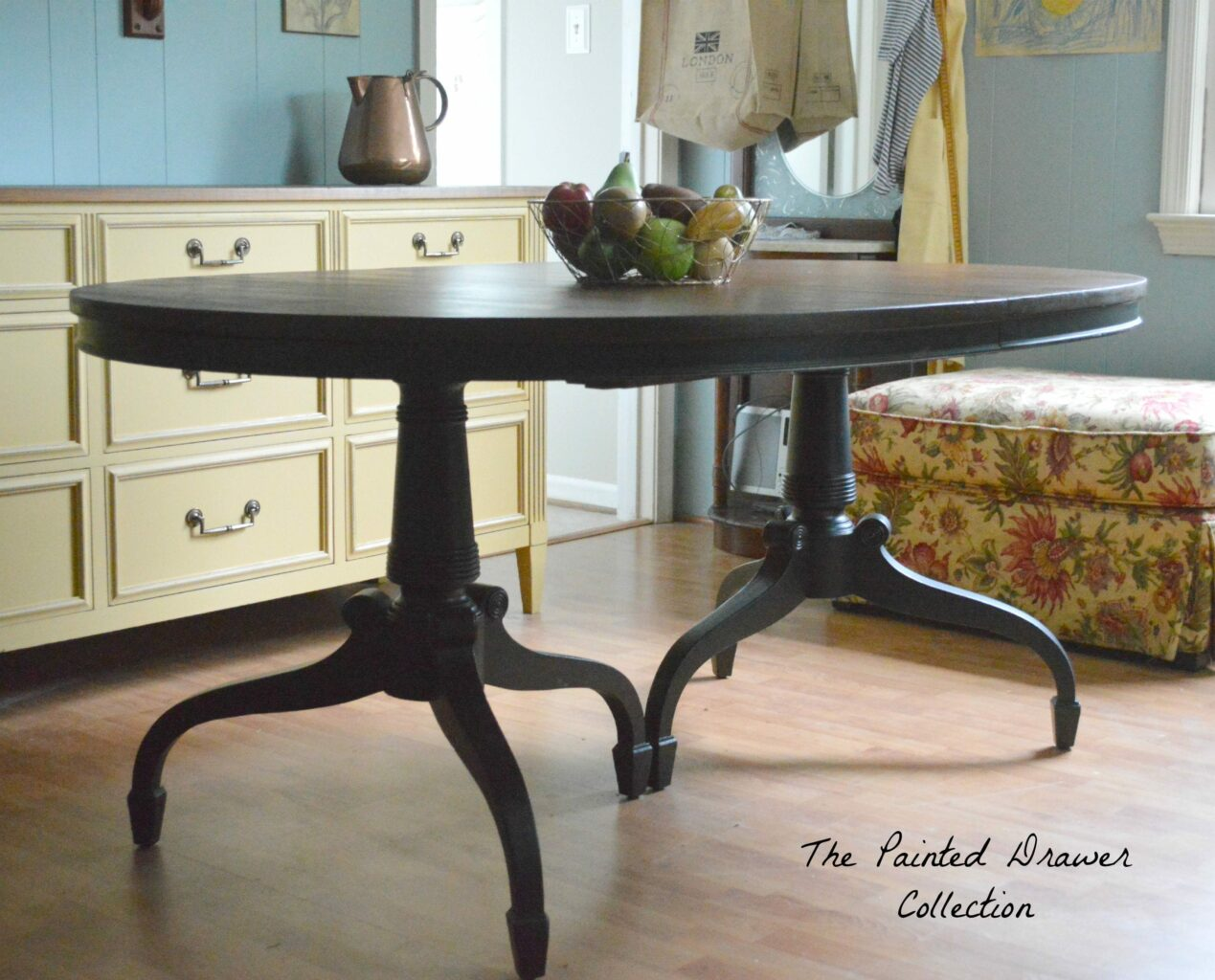 a classic dining room table before and after suzanne bagheri