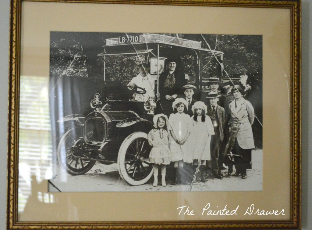 Vintage Photograph www.thepainteddrawer.com