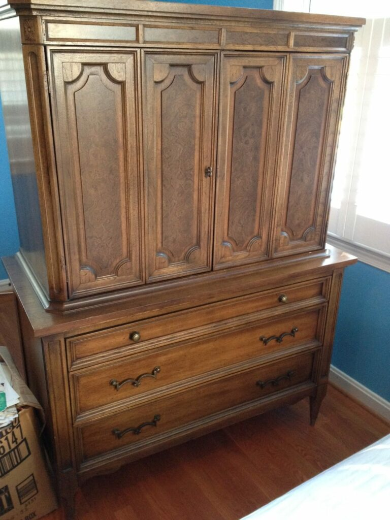 Favorite Find Monday – A Vintage Dresser/Armoire