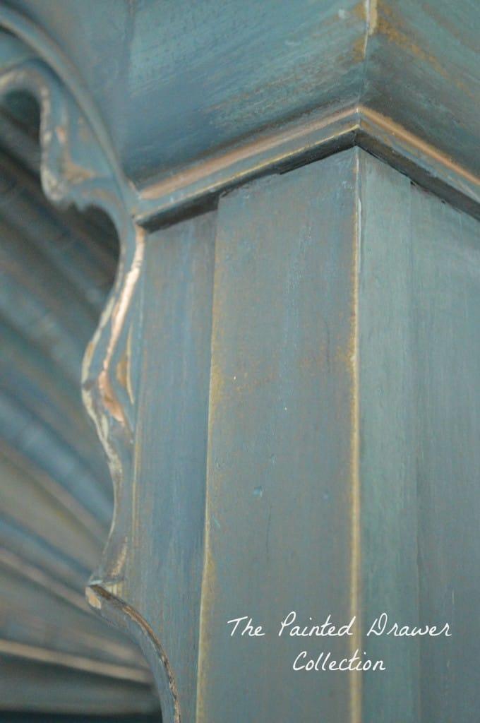 Drexel Shell Cabinet in Annie Sloan Aubusson