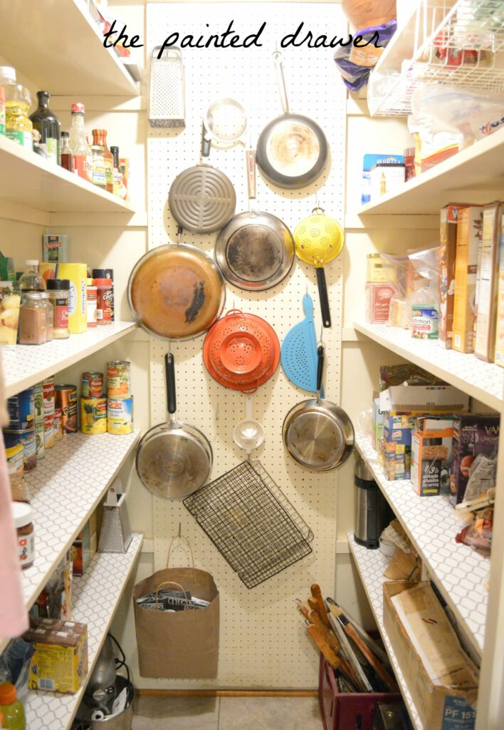 pantry pegboard