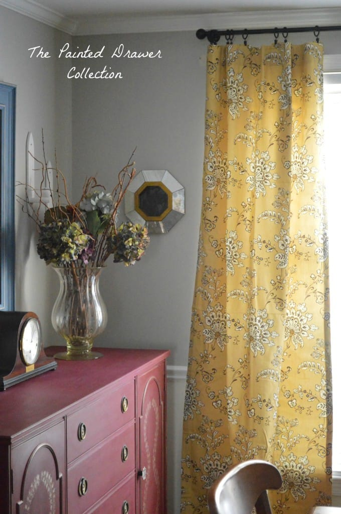 Mustard Curtains