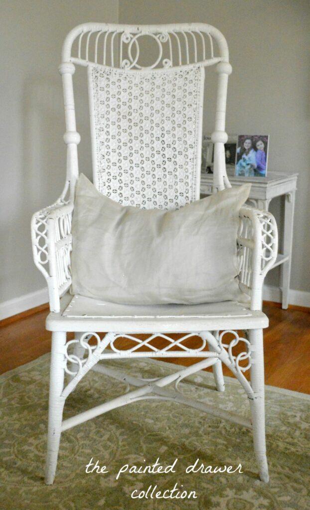 Martha Stewart White Kitchen Chair