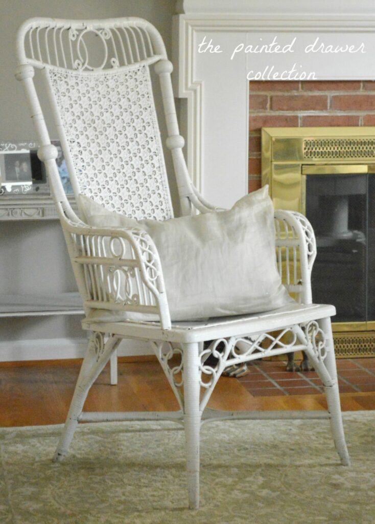 Favorite Find Monday – Vintage Wicker