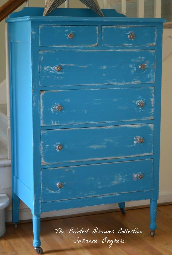 Corinth Blue Dresser