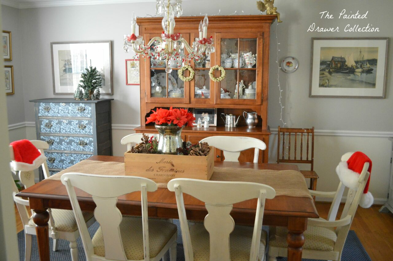 How to distress annie sloan chalk paint tutorial and my for My dining room