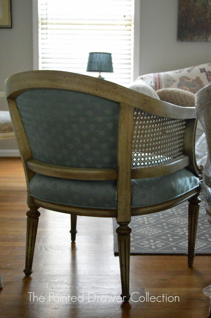 French Chair10 French Barrel Cane Chair ...