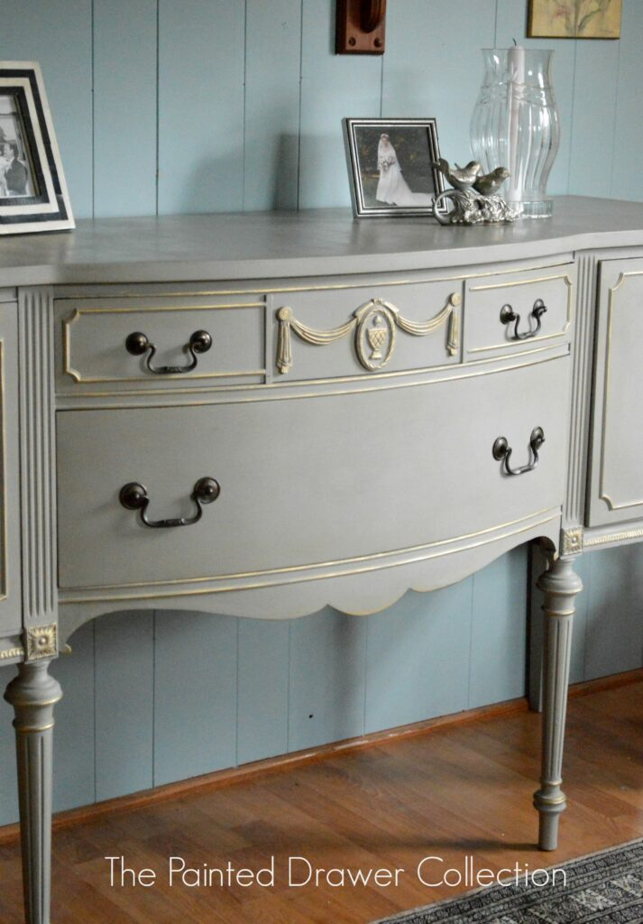 French Sideboard in French Linen
