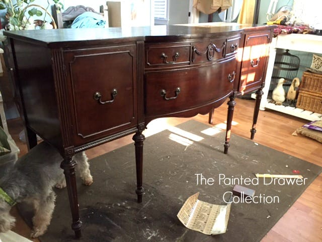 Favorite Find Monday – Vintage Sideboard or Buffet?