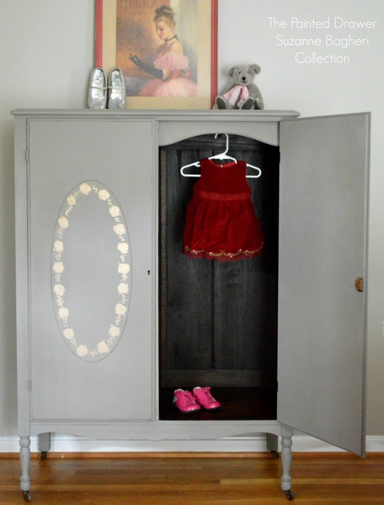 French Linen Armoire